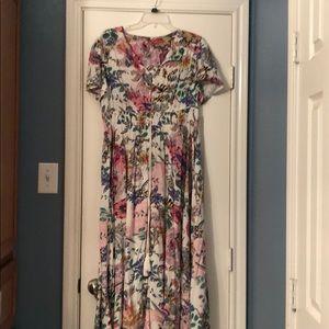 Light weight floral Maxi dress